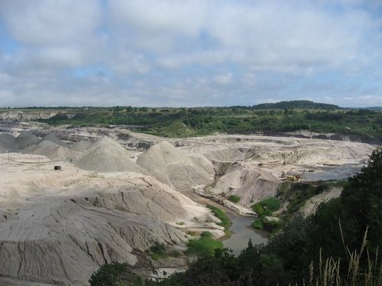 Калининград, Россия: Amber mine, Yantarny