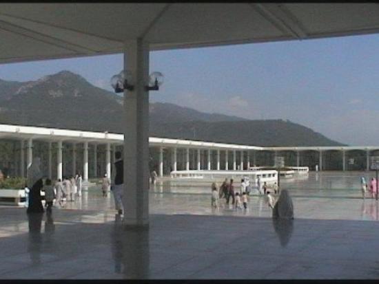 Faisal Mosque: interno moschea