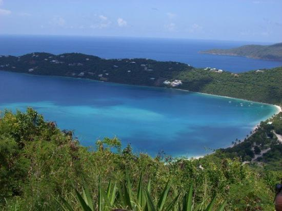 Magens Bay: Megan's Bay, beach we went to last time we were in St. Thomas