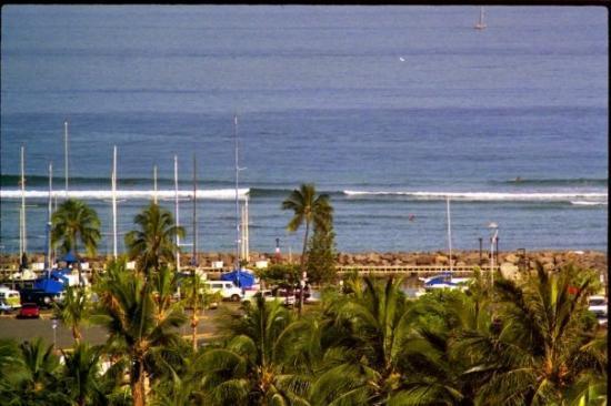 Hale Koa Hotel: View from my hotel in Hawaii