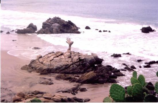 Playa Zicatela: spiaggia Puerto Escondido