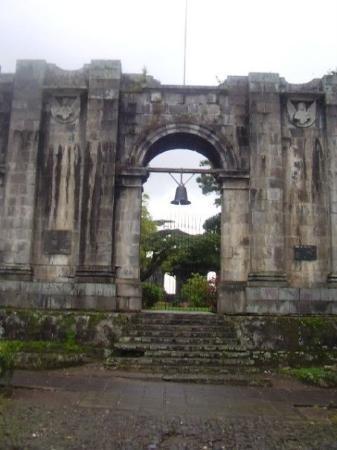Ruinas De La Antigua Parroquia De Santiago Ap 243 Stol Fotograf 237 A De Cartago Provincia De Cartago
