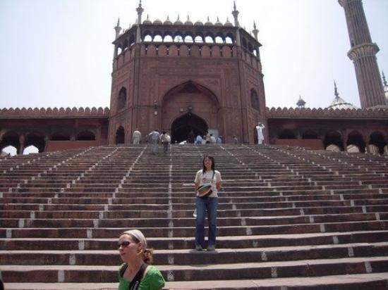 Friday Mosque (Jama Masjid) ภาพถ่าย
