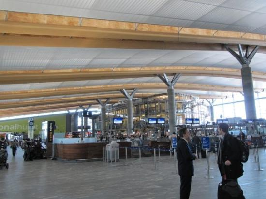 Oslo Airport Departure Hall