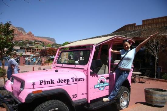Pink Jeep Tours Sedona: Tara na!!!