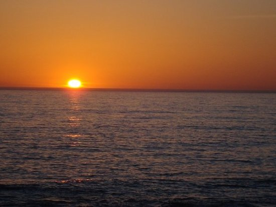 Cambria, Kalifornia: Beautiful pacific sunset!