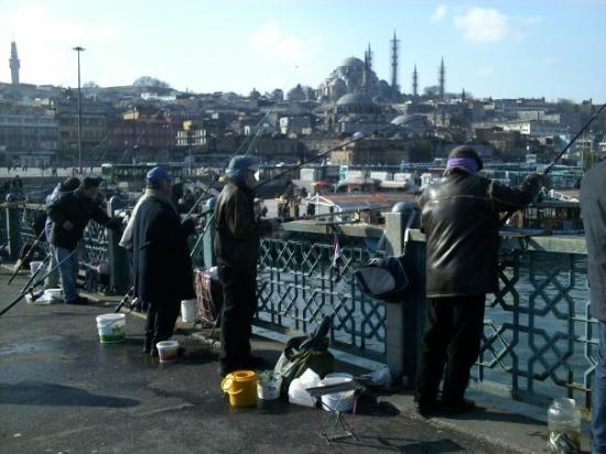 Galata Bridge ภาพถ่าย