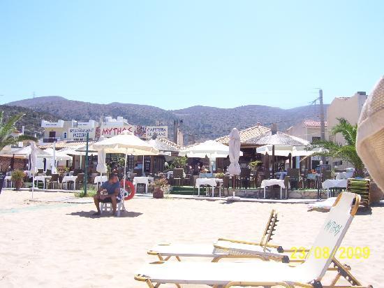 Nefeli Studios : Stalis beach mountain view