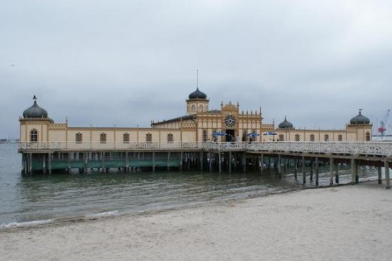 วาร์เบิร์ก, สวีเดน: Tohle jsou tzv. Turecké lázně ve městě (Hammam by the sea) Varberg - Sweden