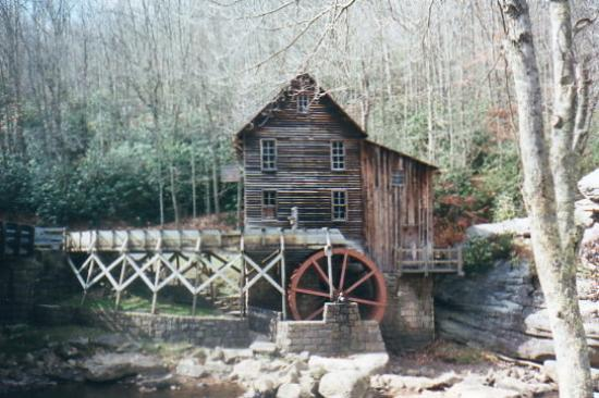 Ansted, WV: Grist Mill at Babcock State Park,  near Anstead, West Virginia