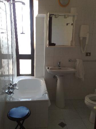 Albergo Corallo: il bagno