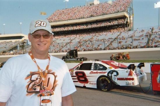 Virginia International Raceway: Dale Jr - The Legend's son.