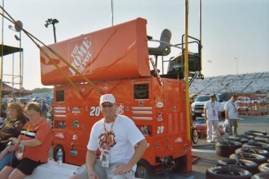 Virginia International Raceway: Tony Stewart - The Myth!