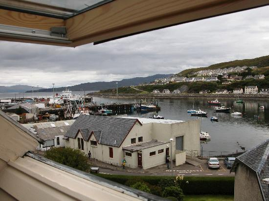 The Anchorage Bed & Breakfast : Mallaig dalla camera