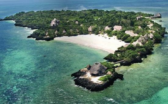 The Sands At Chale Island: L' isola dall' alto