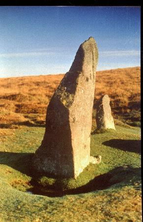 Chagford, UK : Scorhill stone circle