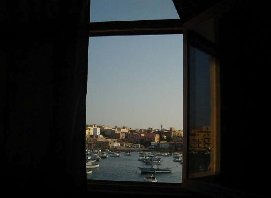 Centro Vela Lampedusa Bed and Breakfast: view from our room