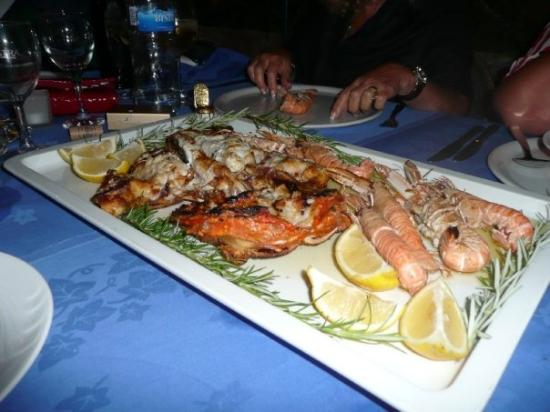 Palmizana: Seafood on the island