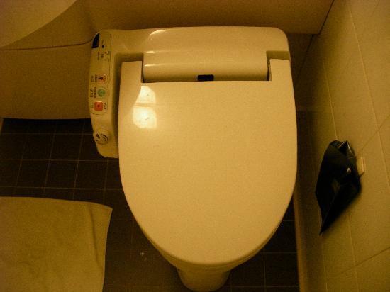 Hotel Villa Fontaine Otemachi: Detalle del baño (WC con botones!)