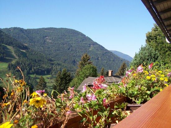 Bad Kleinkirchheim, Austria: Veduta dal terrazzo della camera