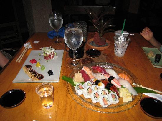 Hyatt Regency Maui Resort and Spa: 和食(寿司)もなかなか美味しい