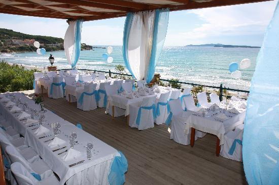 Delfino Blu Boutique Hotel: table settings
