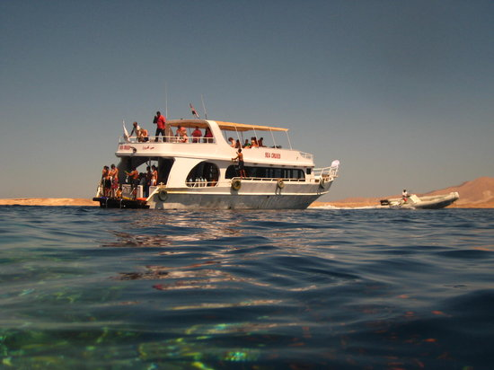 Aquarius Diving Club: Our boat with Aquarius