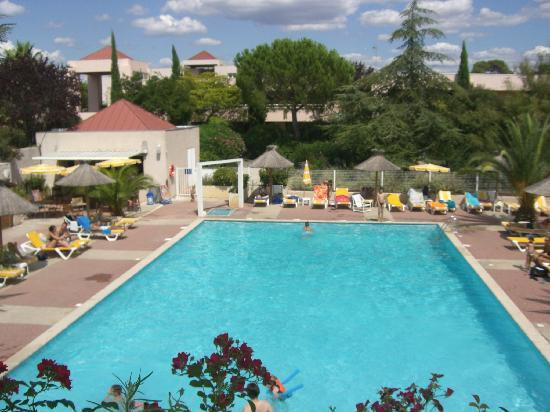 Hotel de Massane : Piscine