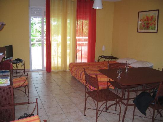 Hotel de Massane : Salon