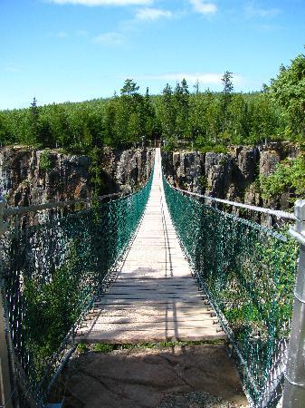 Eagle Canyon Adventures: Suspension Bridge