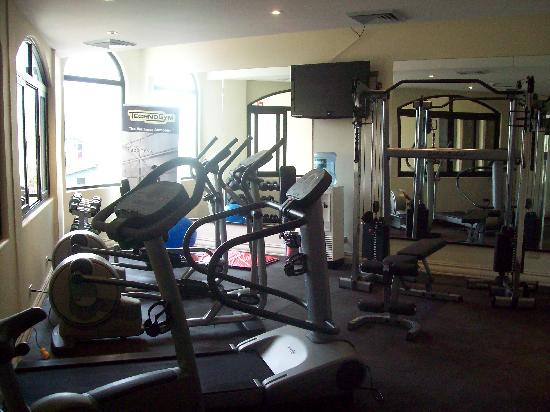 Hotel Beacon Escazu: Fitness centre.