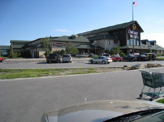 SpringHill Suites Omaha East/Council Bluffs, IA: Bass Pro Shop/Outdoor World is adjacent