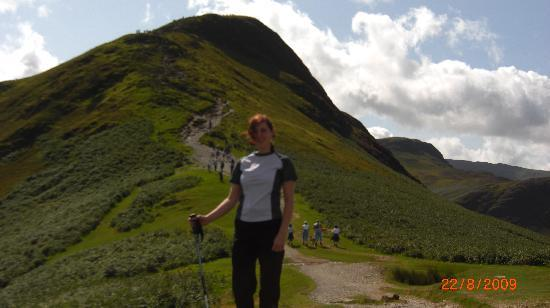 Catbells Lakeland Walk: Nearly there!!!