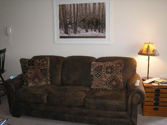 WorldMark Wolf Creek: Comfy furniture