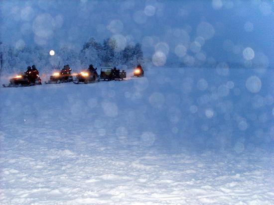Davvi Arctic Lodge: Snow Mobiles