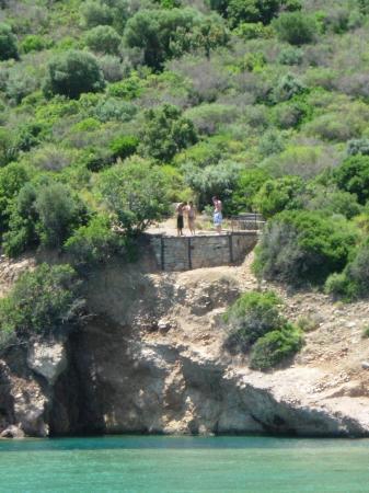 Gumbet, Turquie : METEOR - JUMP OF THE CLIFF ( 2 )