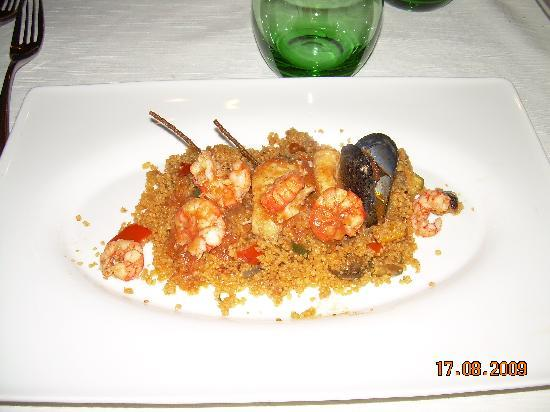Hotel Poma: cous cous di pesce