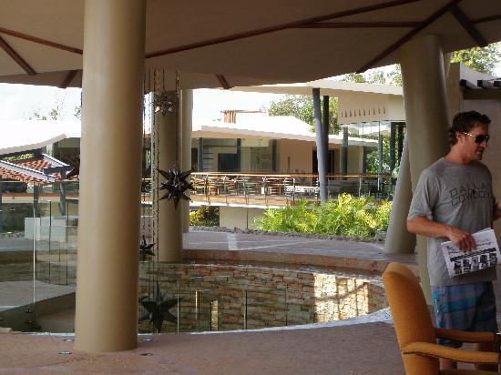 Rosewood Mayakoba: lobby area