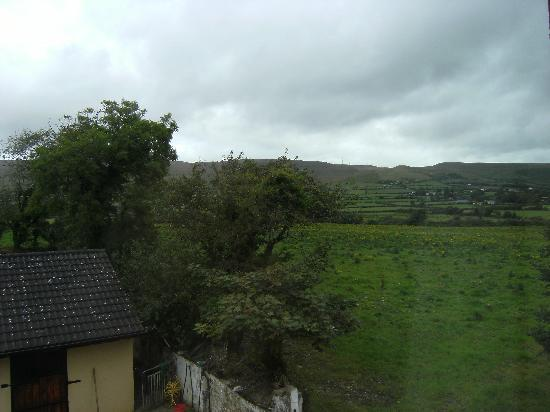 Tom & Eileen's Farm: view from our room
