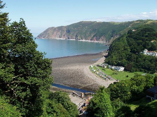 Lyn Holiday Apartments and Fern Cottage: View of Lynmouth