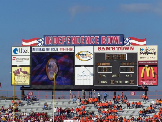 Shreveport, Louisiane : Independence Bowl