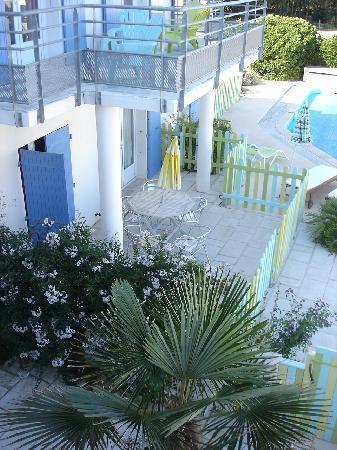 Atlantic Hôtel : Vue de la terrasse