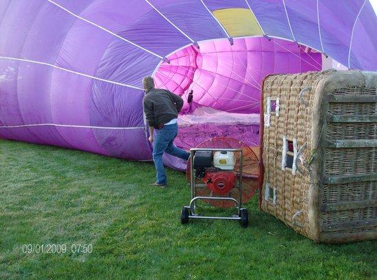 Sundance Balloons: almost ready