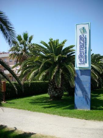 Residence Hotel Le Terrazze: Ingresso pedonale laterale