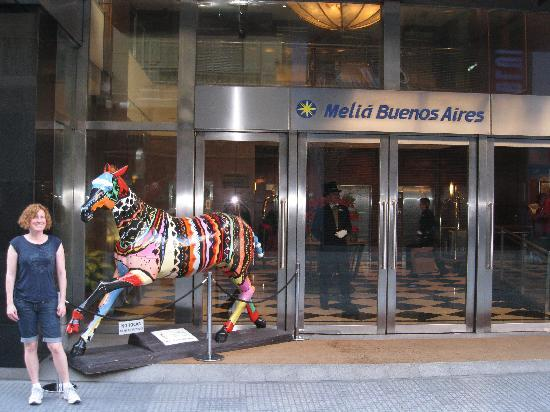 Melia Buenos Aires: Hotel Front