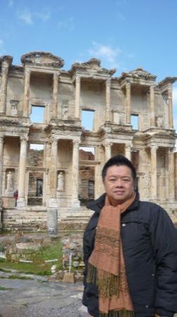 หอสมุดเซลซัส: 以弗所 Celsus 圖書館