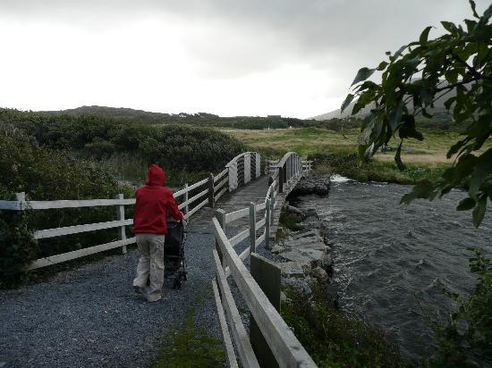 Renvyle, Ireland: Enjoying a walk in the hotel grounds