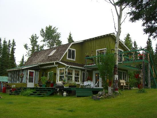 ‪‪Tok‬, ‪Alaska‬: B&B main house‬