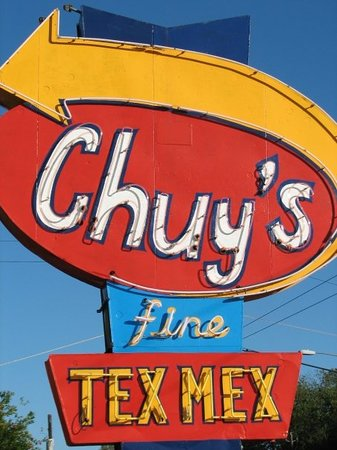 Our first dinner in Austin was at Chuy's.
