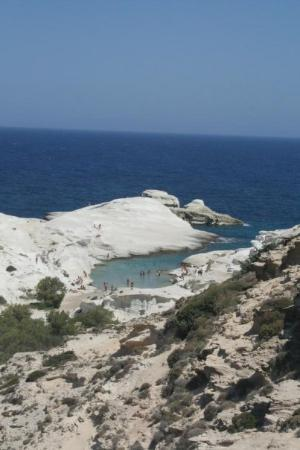 Sarakiniko! Beautiful Milos Island Hellas July 2007